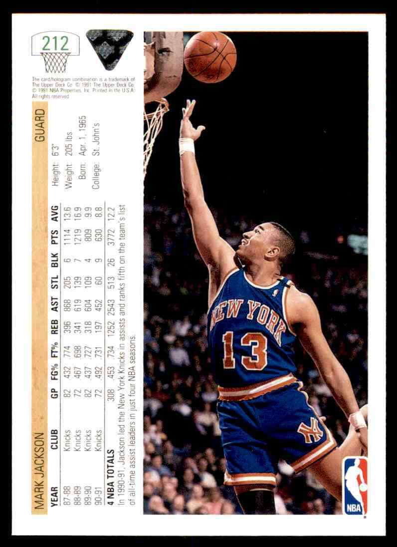 thumbnail 266 - 1991-92 Upper Deck Basketball NBA Choose Your Player -Real Pics Rookie Star (B