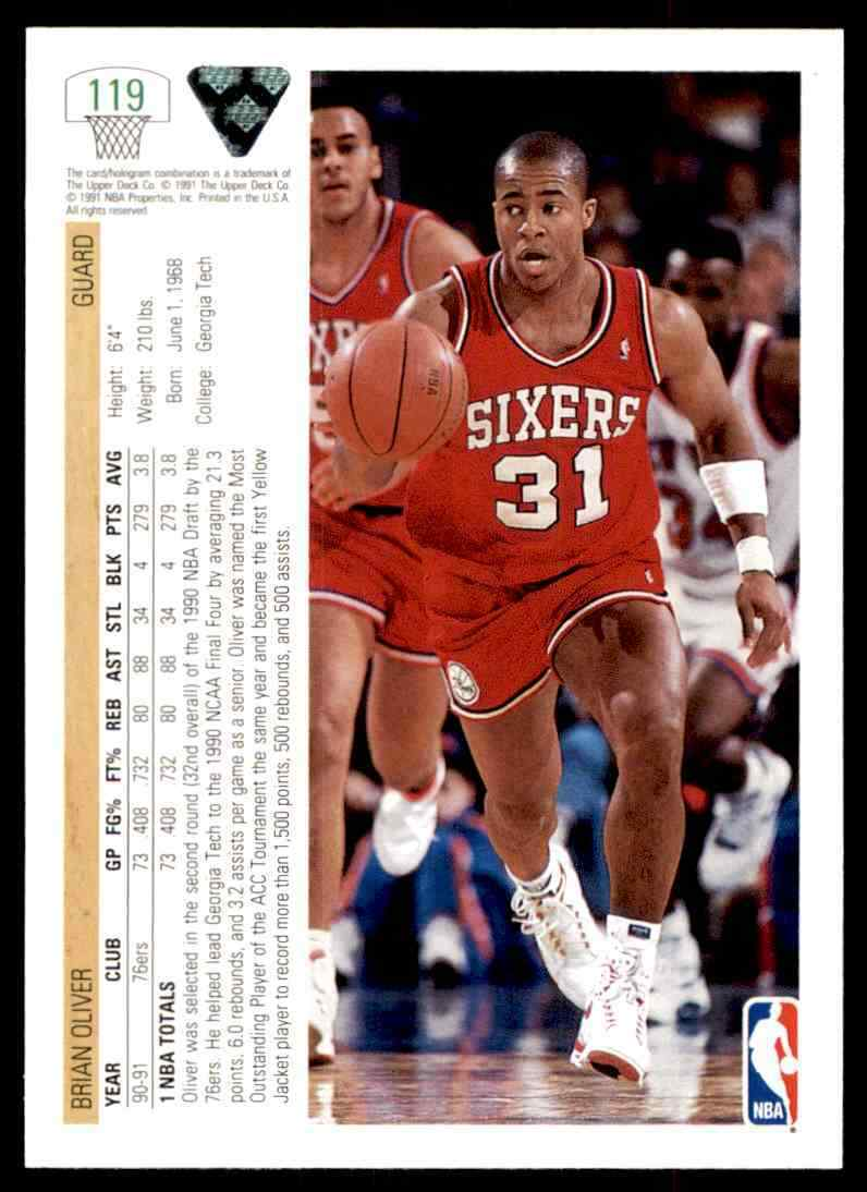 thumbnail 64 - 1991-92 Upper Deck Basketball NBA Choose Your Player -Real Pics Rookie Star (B