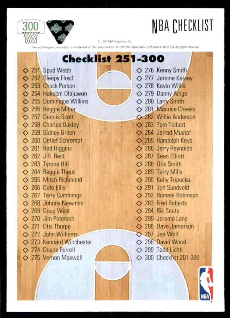 thumbnail 80 - 1991-92 Upper Deck Basketball NBA Choose Your Player -Real Pics Rookie Star (B