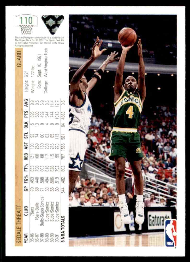 thumbnail 361 - 1991-92 Upper Deck Basketball NBA Choose Your Player -Real Pics Rookie Star (B