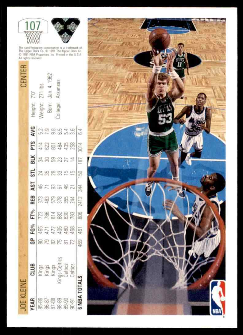 thumbnail 184 - 1991-92 Upper Deck Basketball NBA Choose Your Player -Real Pics Rookie Star (B