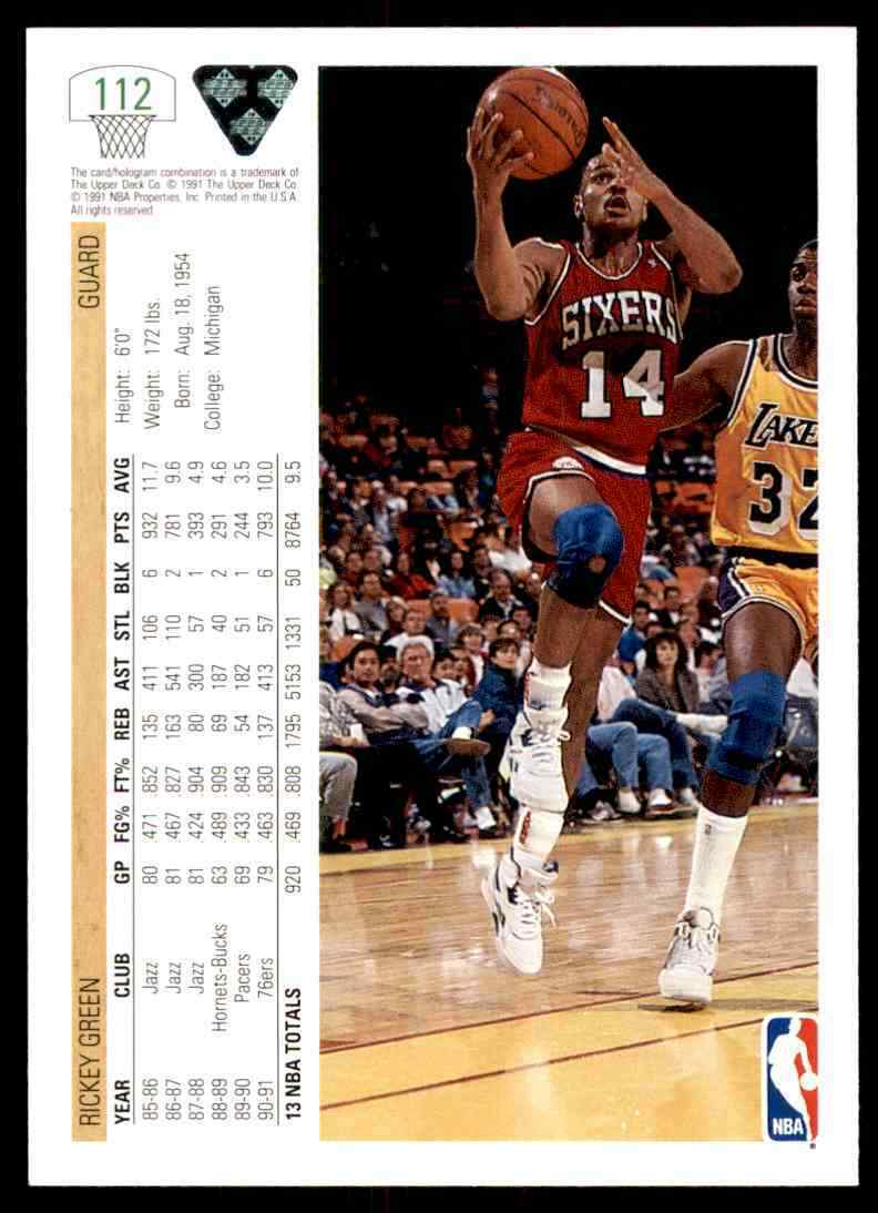 thumbnail 334 - 1991-92 Upper Deck Basketball NBA Choose Your Player -Real Pics Rookie Star (B