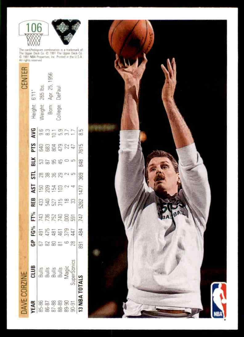 thumbnail 104 - 1991-92 Upper Deck Basketball NBA Choose Your Player -Real Pics Rookie Star (B