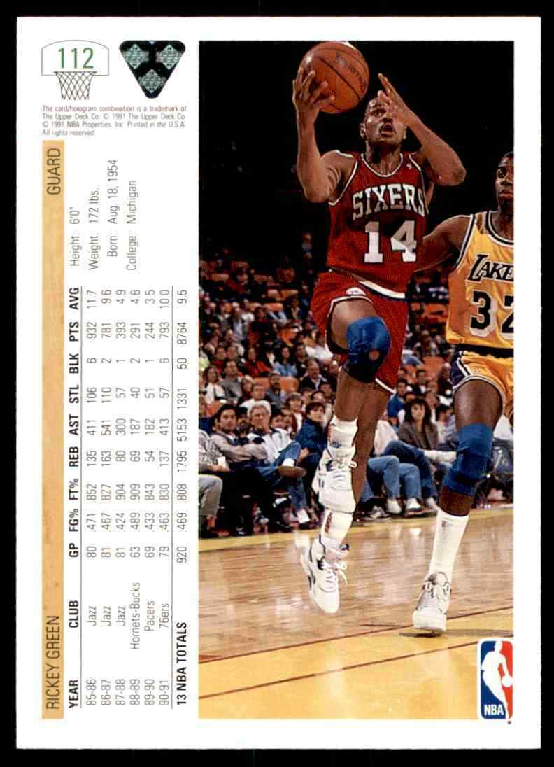 thumbnail 338 - 1991-92 Upper Deck Basketball NBA Choose Your Player -Real Pics Rookie Star (B