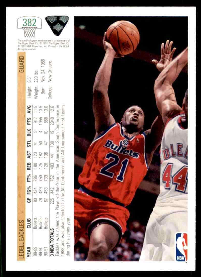 thumbnail 242 - 1991-92 Upper Deck Basketball NBA Choose Your Player -Real Pics Rookie Star (B