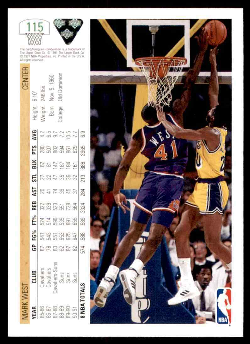 thumbnail 272 - 1991-92 Upper Deck Basketball NBA Choose Your Player -Real Pics Rookie Star (B