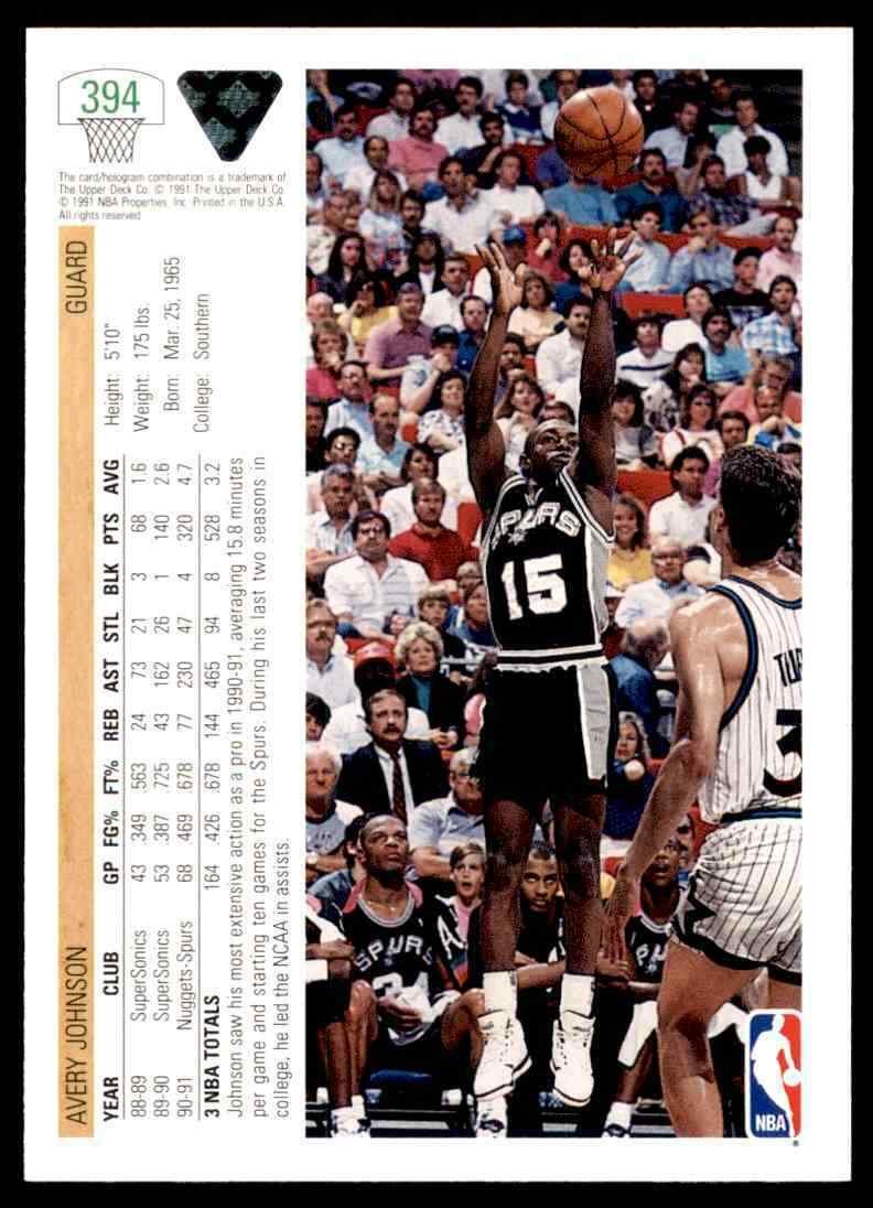 thumbnail 40 - 1991-92 Upper Deck Basketball NBA Choose Your Player -Real Pics Rookie Star (B