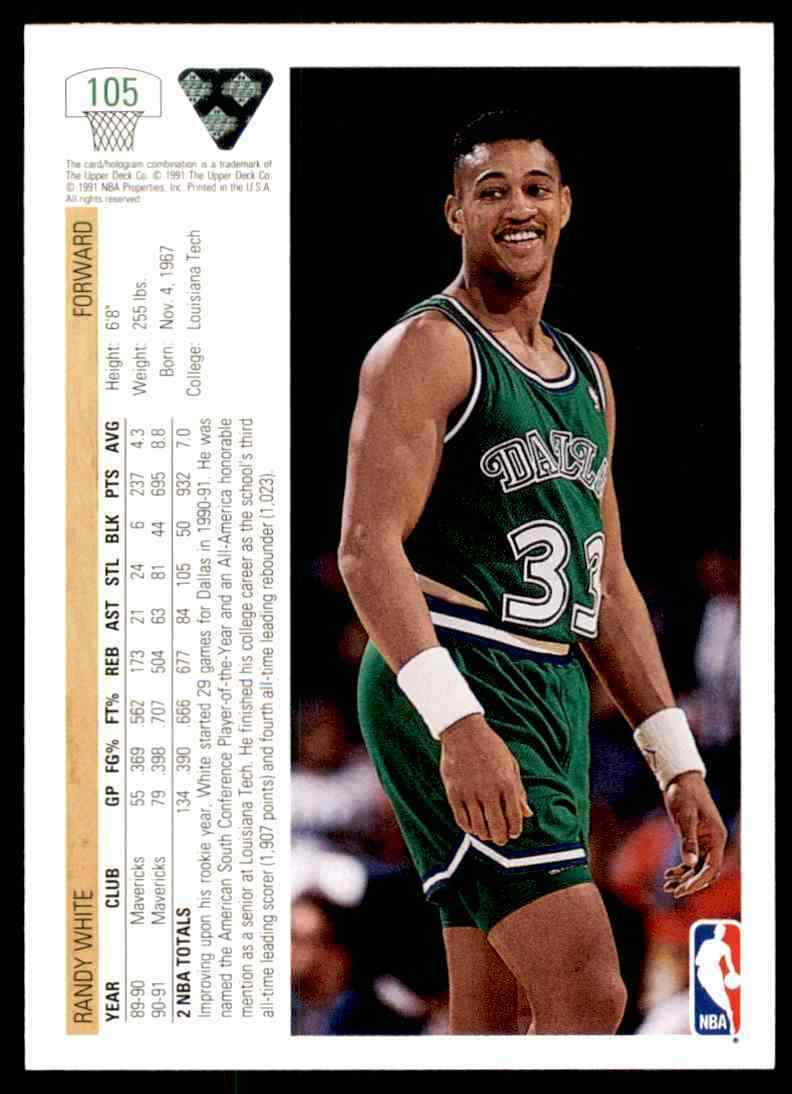 thumbnail 316 - 1991-92 Upper Deck Basketball NBA Choose Your Player -Real Pics Rookie Star (B