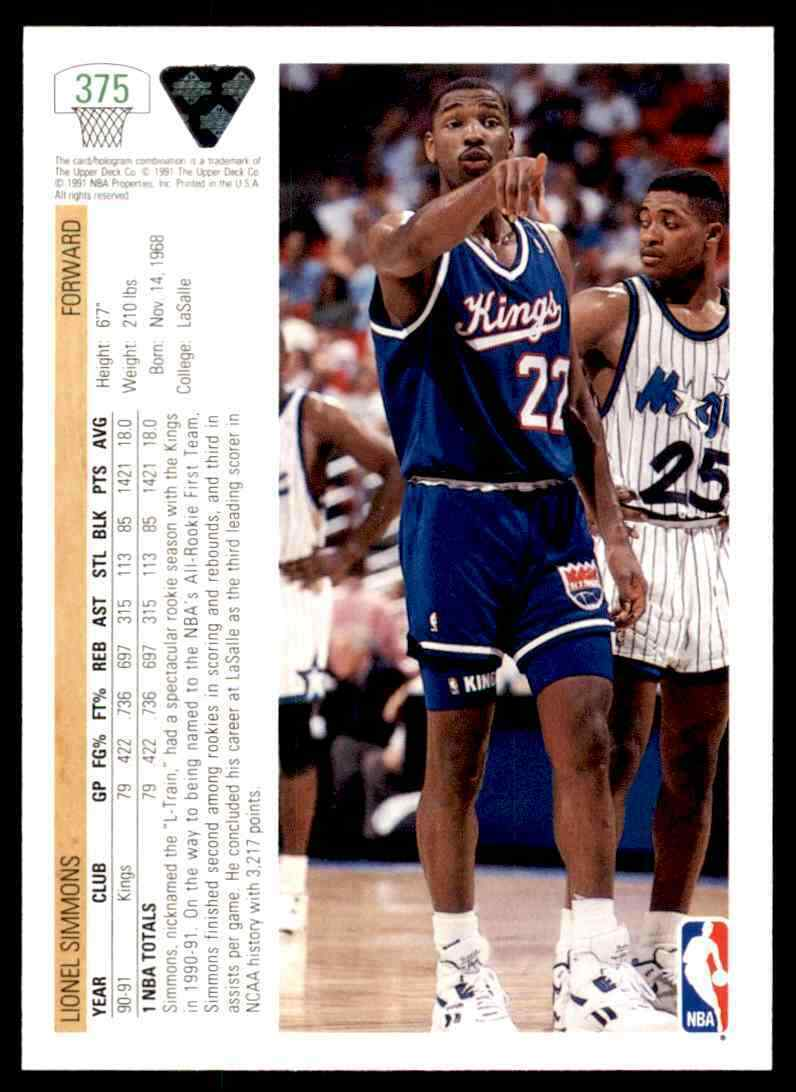 thumbnail 248 - 1991-92 Upper Deck Basketball NBA Choose Your Player -Real Pics Rookie Star (B