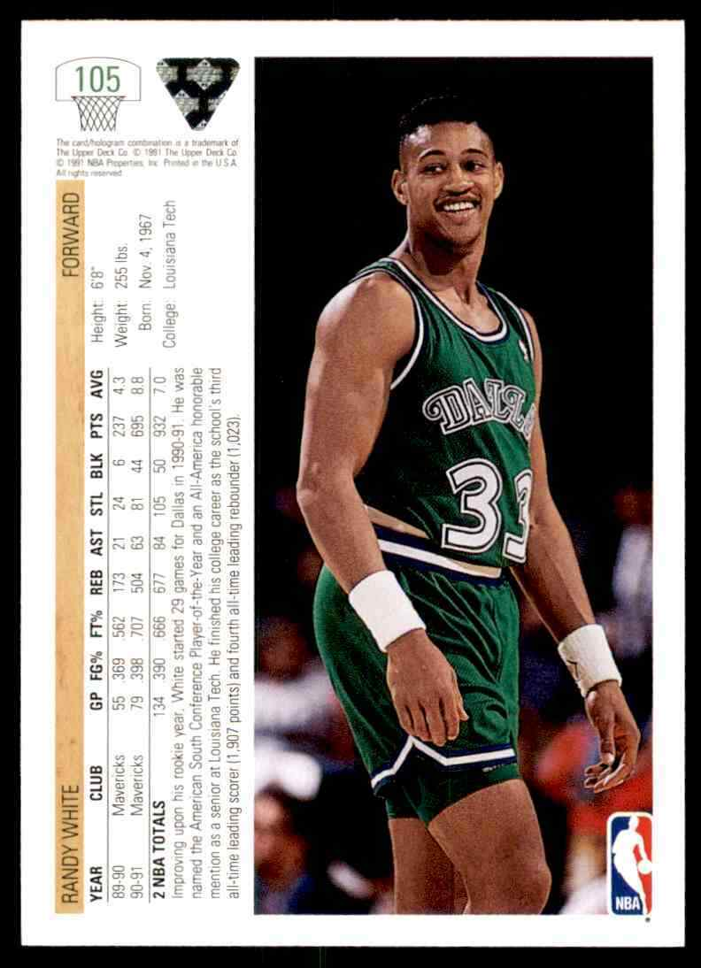 thumbnail 320 - 1991-92 Upper Deck Basketball NBA Choose Your Player -Real Pics Rookie Star (B