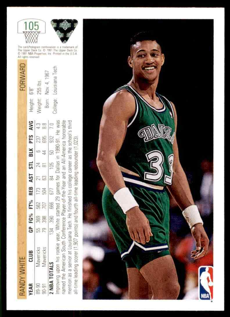 thumbnail 318 - 1991-92 Upper Deck Basketball NBA Choose Your Player -Real Pics Rookie Star (B