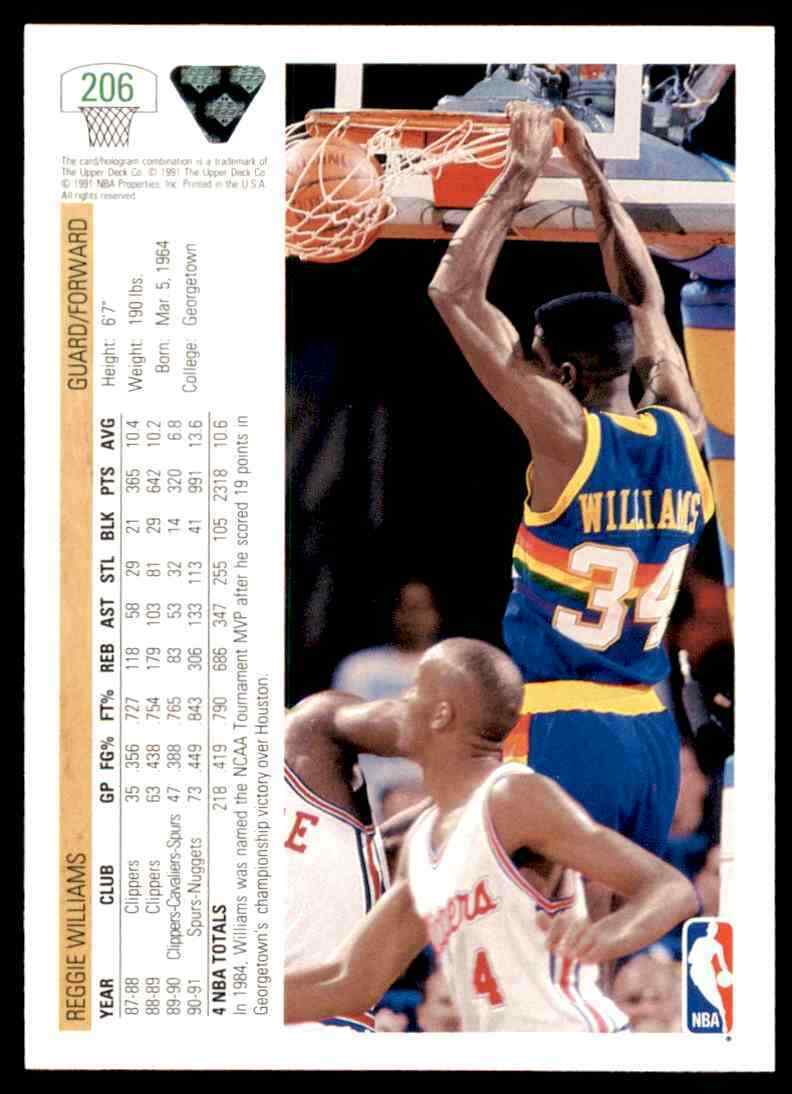 thumbnail 330 - 1991-92 Upper Deck Basketball NBA Choose Your Player -Real Pics Rookie Star (B