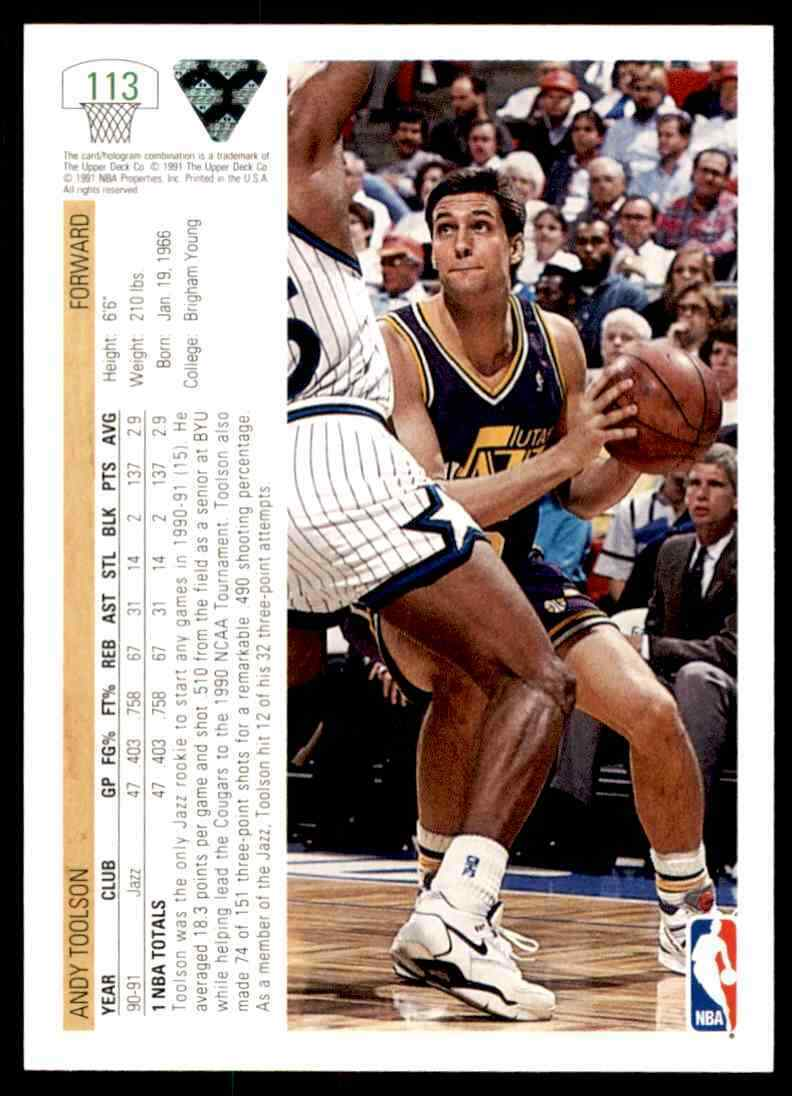 thumbnail 28 - 1991-92 Upper Deck Basketball NBA Choose Your Player -Real Pics Rookie Star (B