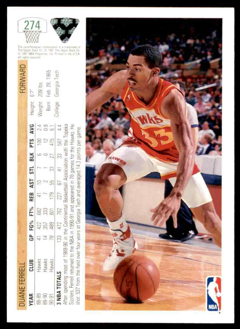 thumbnail 130 - 1991-92 Upper Deck Basketball NBA Choose Your Player -Real Pics Rookie Star (B