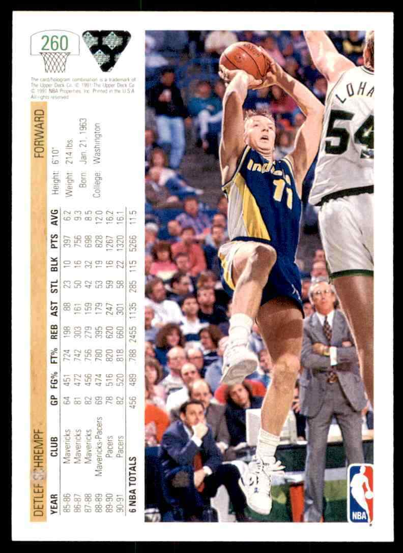 thumbnail 126 - 1991-92 Upper Deck Basketball NBA Choose Your Player -Real Pics Rookie Star (B