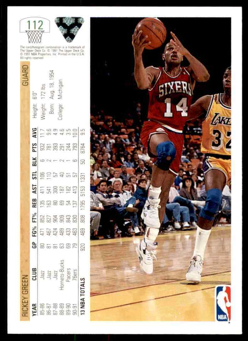 thumbnail 336 - 1991-92 Upper Deck Basketball NBA Choose Your Player -Real Pics Rookie Star (B