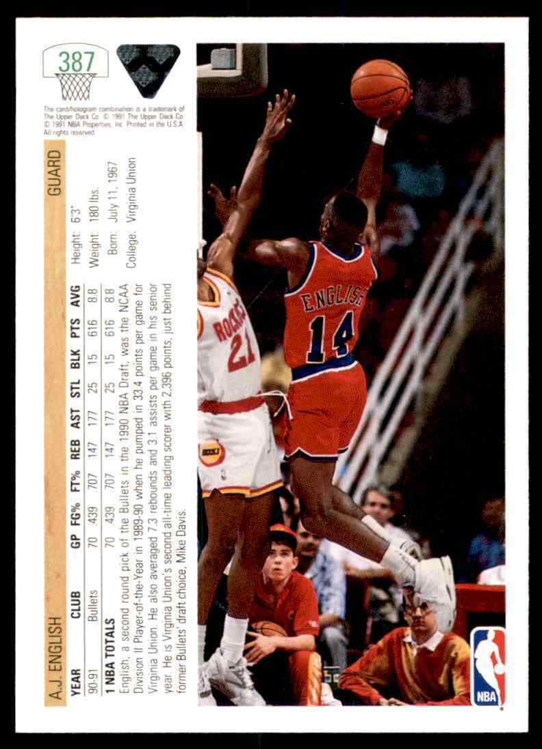 thumbnail 4 - 1991-92 Upper Deck Basketball NBA Choose Your Player -Real Pics Rookie Star (B