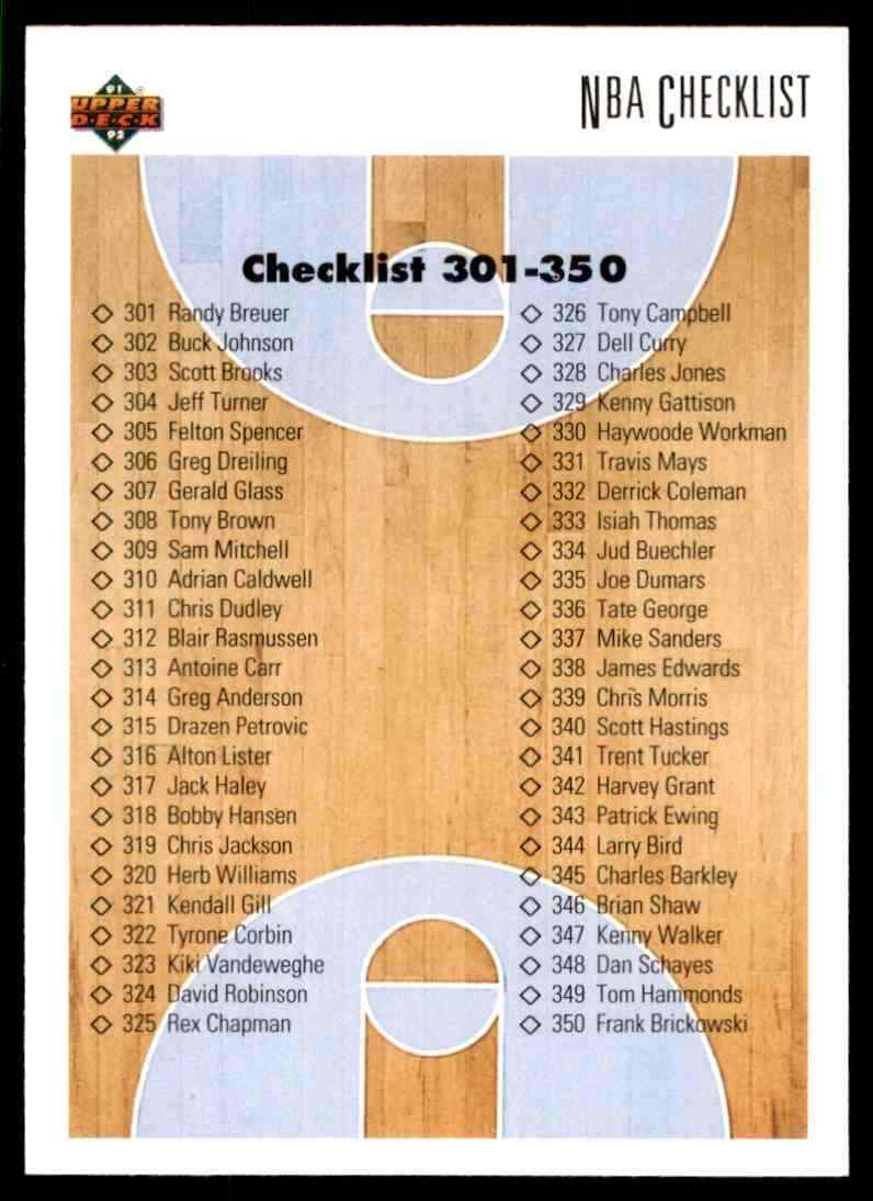 thumbnail 72 - 1991-92 Upper Deck Basketball NBA Choose Your Player -Real Pics Rookie Star (B
