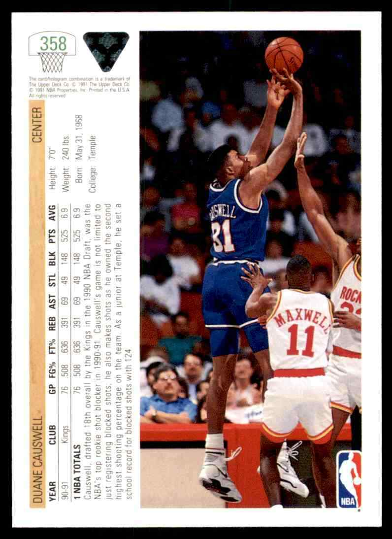 thumbnail 128 - 1991-92 Upper Deck Basketball NBA Choose Your Player -Real Pics Rookie Star (B