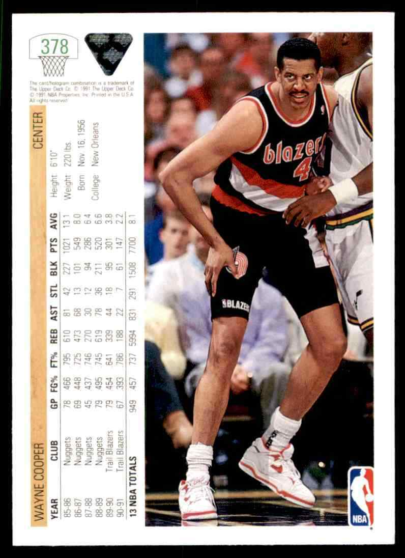 thumbnail 419 - 1991-92 Upper Deck Basketball NBA Choose Your Player -Real Pics Rookie Star (B