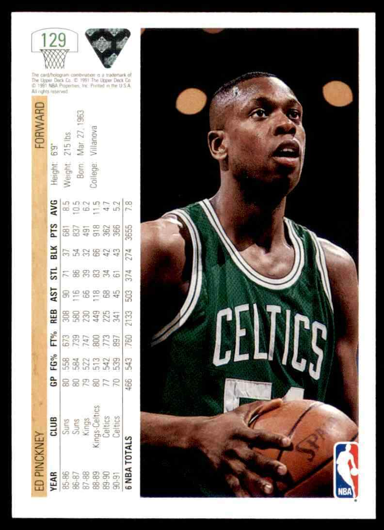 thumbnail 132 - 1991-92 Upper Deck Basketball NBA Choose Your Player -Real Pics Rookie Star (B