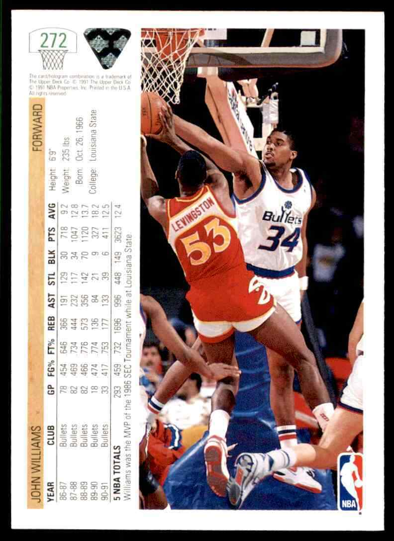 thumbnail 198 - 1991-92 Upper Deck Basketball NBA Choose Your Player -Real Pics Rookie Star (B
