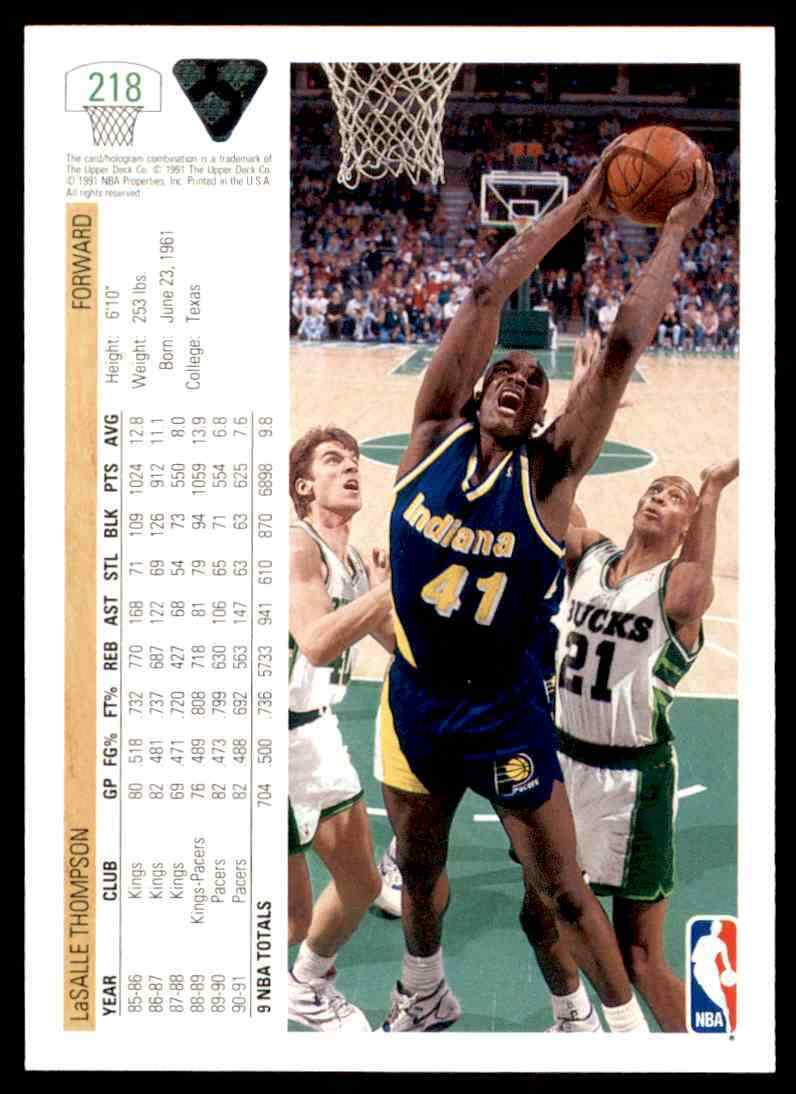 thumbnail 240 - 1991-92 Upper Deck Basketball NBA Choose Your Player -Real Pics Rookie Star (B