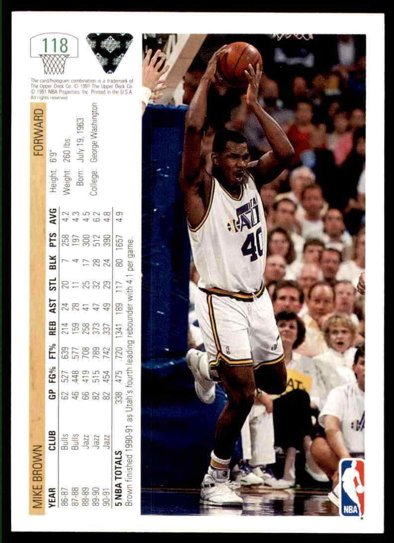 thumbnail 288 - 1991-92 Upper Deck Basketball NBA Choose Your Player -Real Pics Rookie Star (B