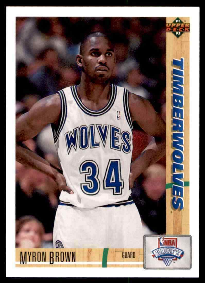 thumbnail 295 - 1991-92 Upper Deck Basketball NBA Choose Your Player -Real Pics Rookie Star (B