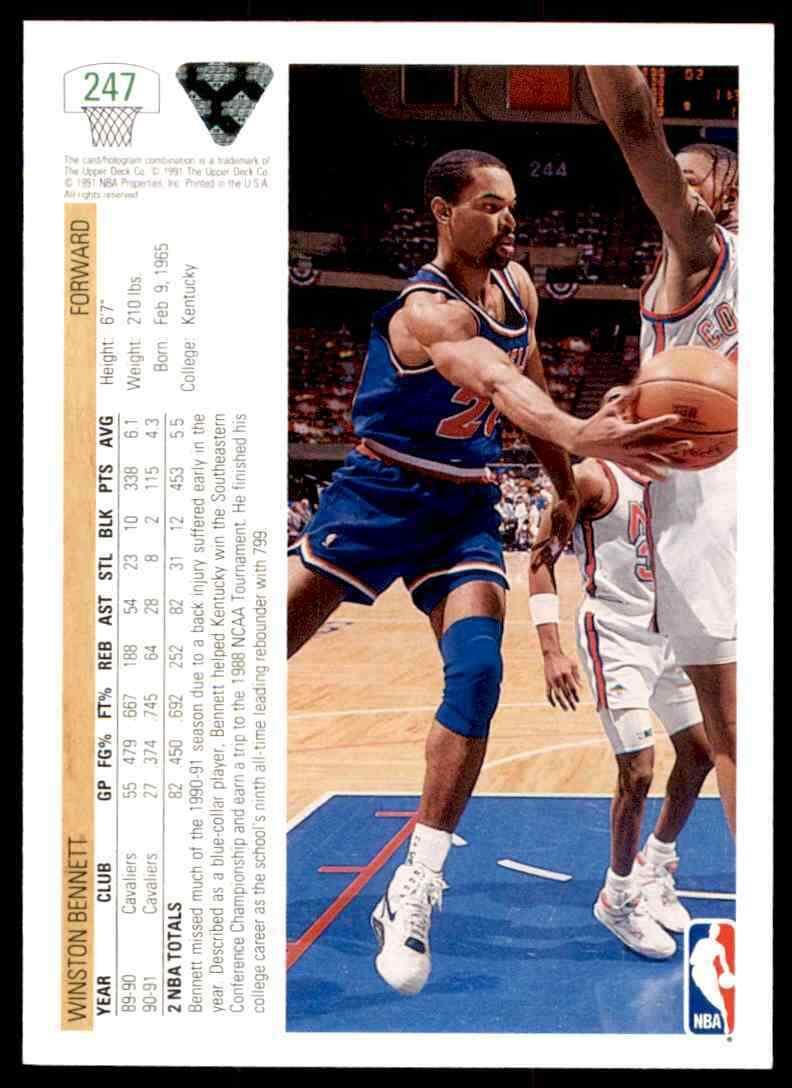 thumbnail 425 - 1991-92 Upper Deck Basketball NBA Choose Your Player -Real Pics Rookie Star (B
