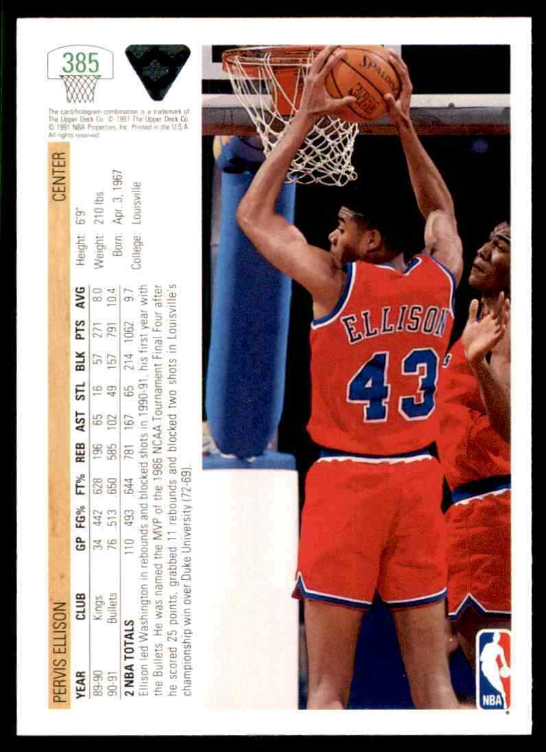 thumbnail 308 - 1991-92 Upper Deck Basketball NBA Choose Your Player -Real Pics Rookie Star (B