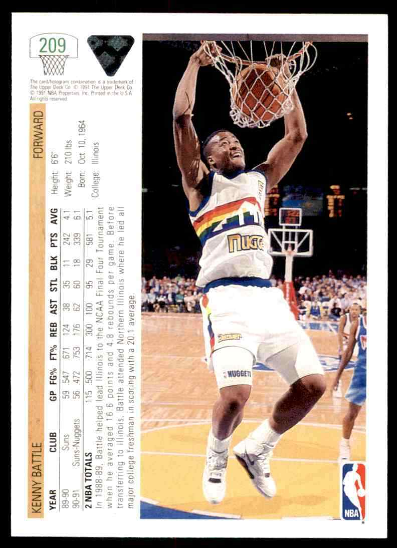thumbnail 220 - 1991-92 Upper Deck Basketball NBA Choose Your Player -Real Pics Rookie Star (B