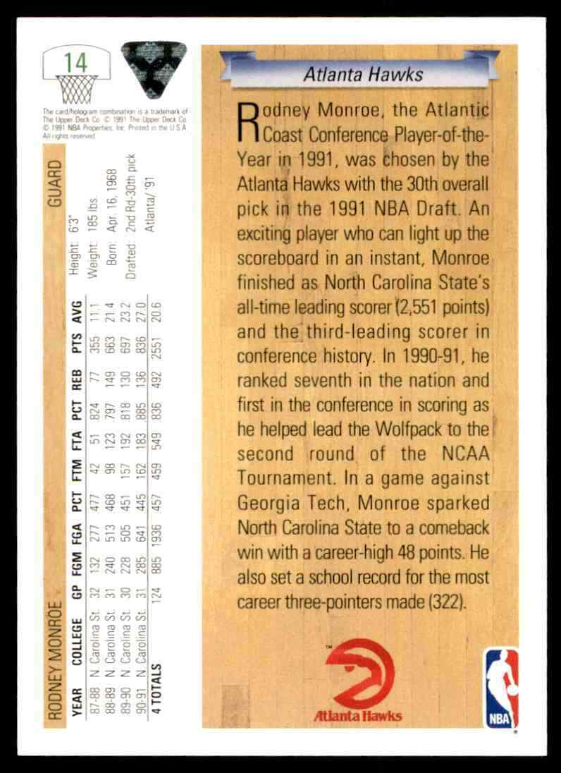 thumbnail 350 - 1991-92 Upper Deck Basketball NBA Choose Your Player -Real Pics Rookie Star (B