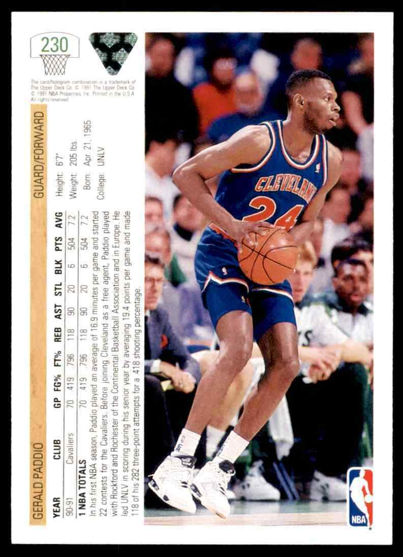 thumbnail 156 - 1991-92 Upper Deck Basketball NBA Choose Your Player -Real Pics Rookie Star (B