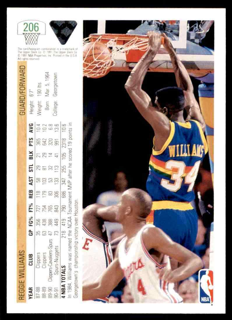 thumbnail 328 - 1991-92 Upper Deck Basketball NBA Choose Your Player -Real Pics Rookie Star (B