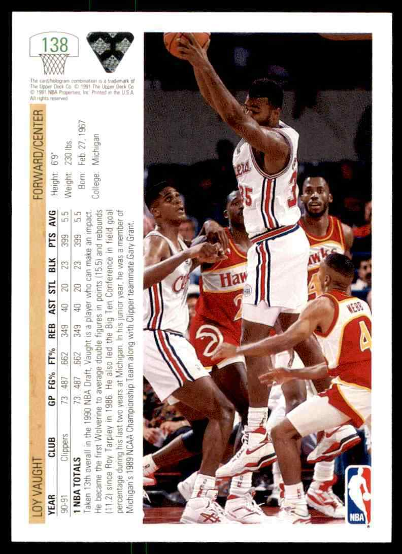 thumbnail 252 - 1991-92 Upper Deck Basketball NBA Choose Your Player -Real Pics Rookie Star (B