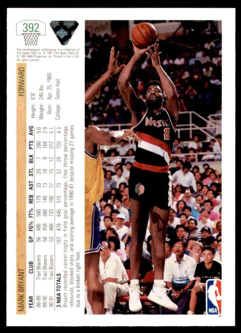 thumbnail 260 - 1991-92 Upper Deck Basketball NBA Choose Your Player -Real Pics Rookie Star (B