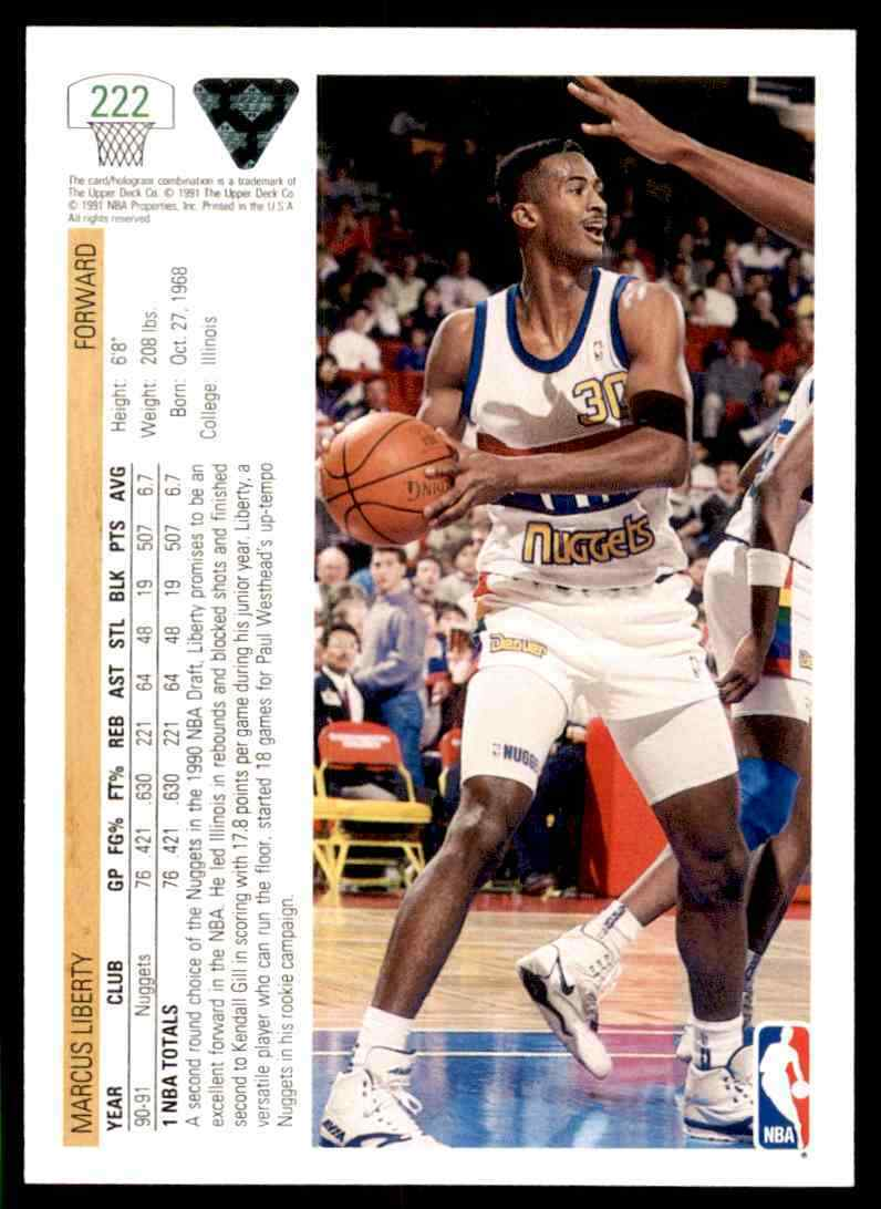 thumbnail 256 - 1991-92 Upper Deck Basketball NBA Choose Your Player -Real Pics Rookie Star (B
