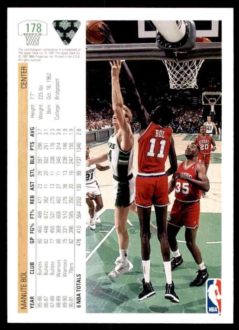 thumbnail 254 - 1991-92 Upper Deck Basketball NBA Choose Your Player -Real Pics Rookie Star (B