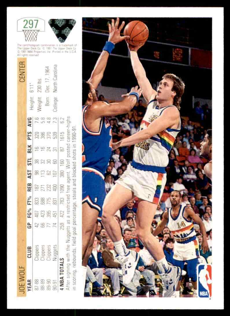 thumbnail 186 - 1991-92 Upper Deck Basketball NBA Choose Your Player -Real Pics Rookie Star (B
