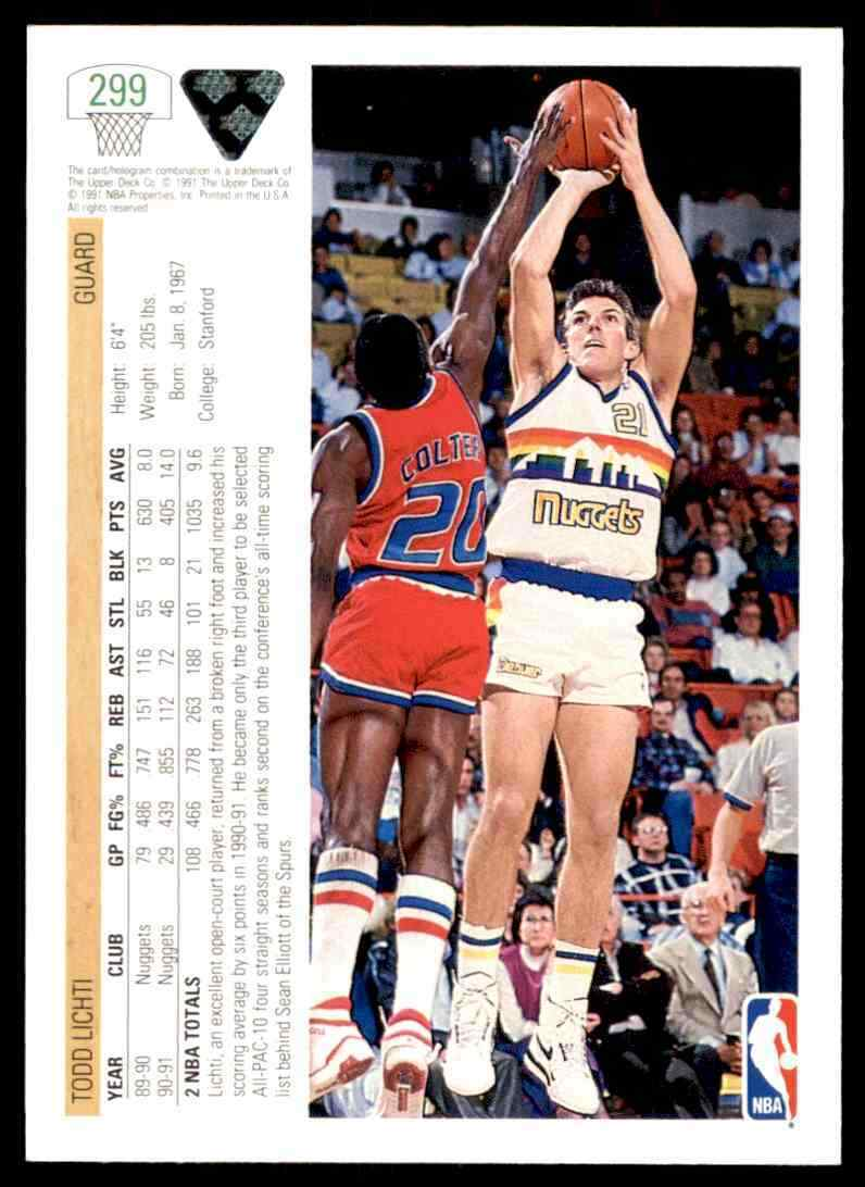 thumbnail 397 - 1991-92 Upper Deck Basketball NBA Choose Your Player -Real Pics Rookie Star (B