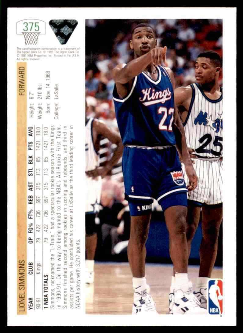 thumbnail 250 - 1991-92 Upper Deck Basketball NBA Choose Your Player -Real Pics Rookie Star (B