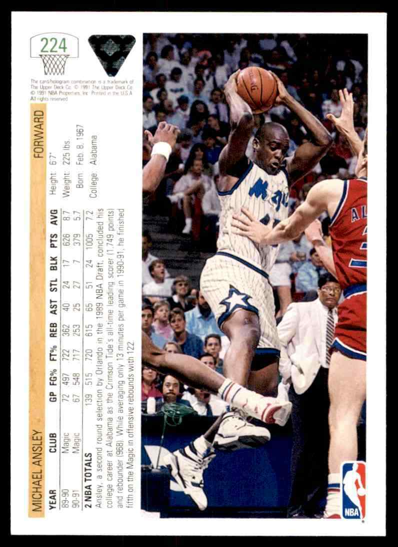 thumbnail 278 - 1991-92 Upper Deck Basketball NBA Choose Your Player -Real Pics Rookie Star (B