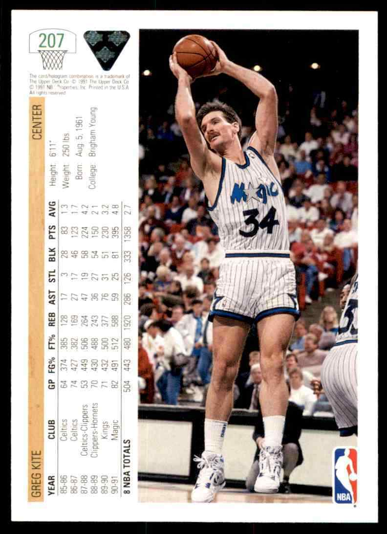 thumbnail 164 - 1991-92 Upper Deck Basketball NBA Choose Your Player -Real Pics Rookie Star (B