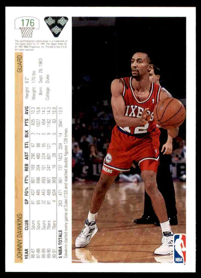thumbnail 202 - 1991-92 Upper Deck Basketball NBA Choose Your Player -Real Pics Rookie Star (B