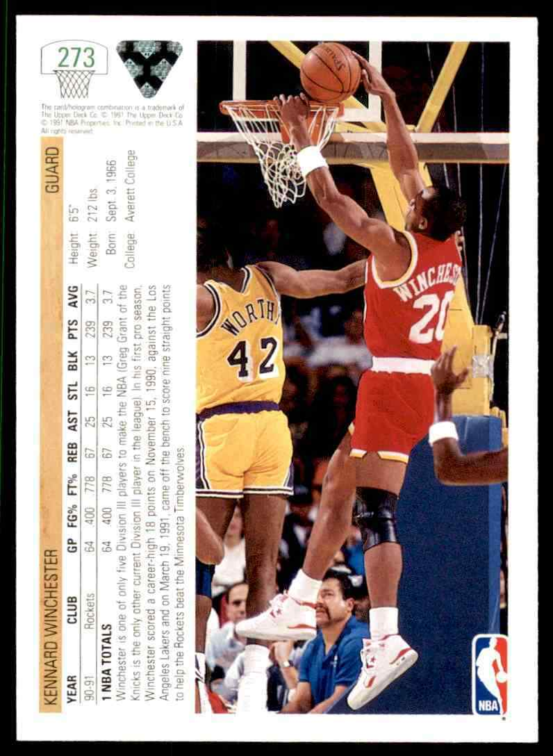 thumbnail 218 - 1991-92 Upper Deck Basketball NBA Choose Your Player -Real Pics Rookie Star (B