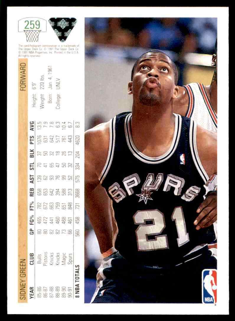 thumbnail 369 - 1991-92 Upper Deck Basketball NBA Choose Your Player -Real Pics Rookie Star (B